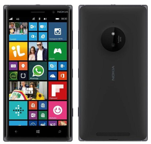 "Nokia Lumia 830 | 16GB 4G (GSM UNLOCKED) 5.0"" Windows Smartphone RM-985 | Black"