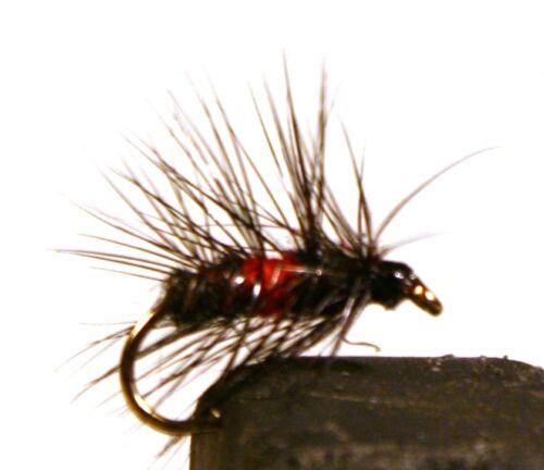 ICE FLIES Pick a size 4-pack Wet flies Bibio Size 8-14.