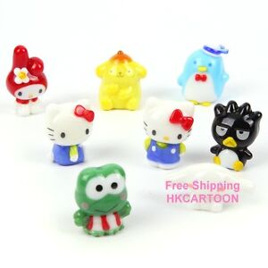 JAPAN-HELLO-KITTY-KEROPPI-CINNAMOROLL-POM-POM-PURIN-MINI-GLASS-DECORATION