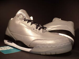 9b969353c90b Nike Air Jordan III 3 Retro 5LAB3 REFLECT 3M SILVER CEMENT GREY ...