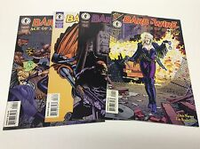 BARB WIRE ACE OF SPADES #1-4 (DARK HORSE/BRADSTREET/061655) FULL SET LOT OF 4
