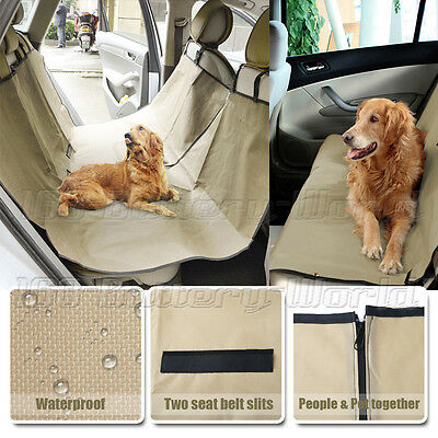 Car Rear Back Seat Cover for Dog Cat Pets Waterproof Protector Hammock Washable