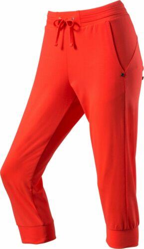 energetics Damen Fitness-Freizeit-Caprihose 3//4 Hose Yoga Hose  Marlen rot