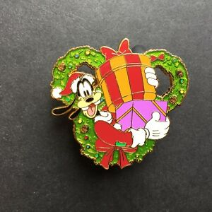 Happy-Holidays-2014-Wreath-Collection-Mystery-Goofy-Disney-Pin-106313