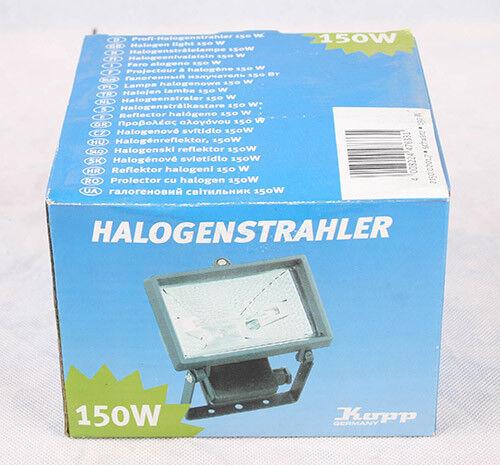 1 x Koop Halogenstrahler 150 Watt EEK F IP 44