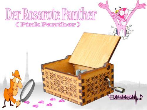 Der Rosarote Panther Pink Panther Spieluhr Musikuhr Musicbox Spieldose Neu