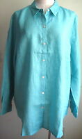 J.jill Linen Big Shirt Xl $69