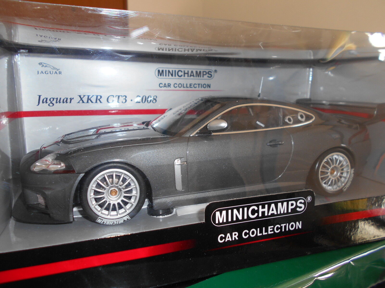 MIN150081390 by MINICHAMPS JAGUAR XKR GT3 2008 1 18