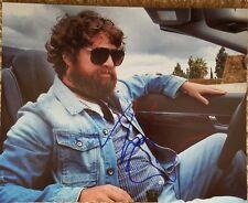 Zack Galifianakis Original Autograph 8x10 Photo *Free Shipping*