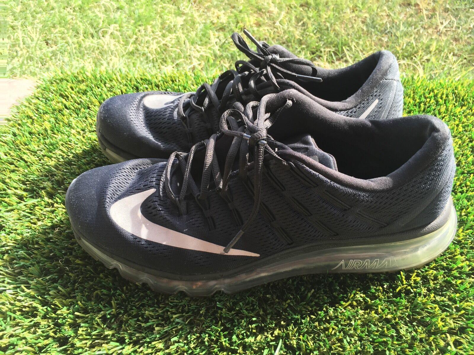 Hombre nike air max 2018 806771-001 10,5 Negro Corriendo zapatos tamaño 10,5 806771-001 6115e7