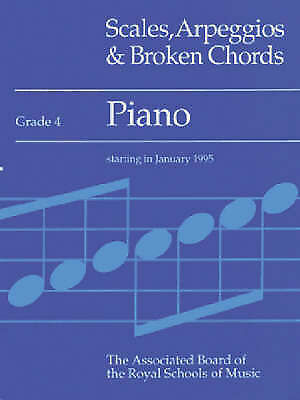 1 of 1 - Scales, Arpeggios and Broken Chords: Piano: Grade 4 by Associated Board of the …