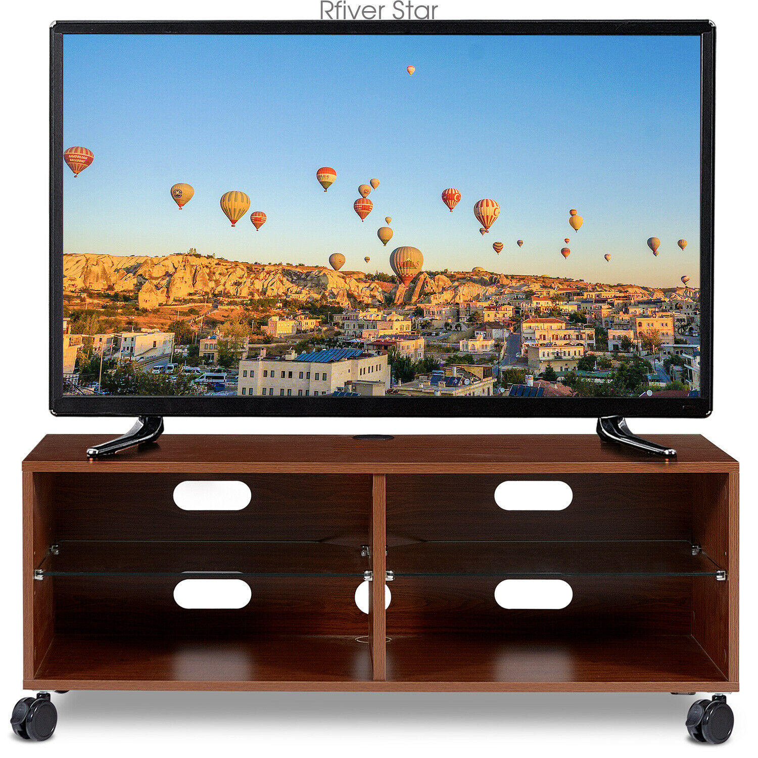Picture of: 52 Inch White Wood Corner Tv Stand For Sale Online Ebay