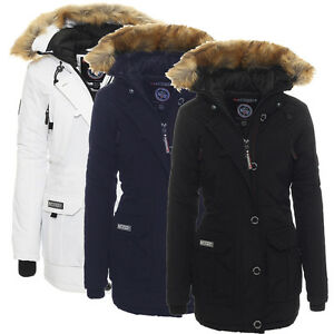Giacca Inverno Sci Parka Geographical Foderato Donna Norway Alaska twnXgRq