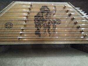 Quality Santoor Santour Santur Dulcimer with hard case
