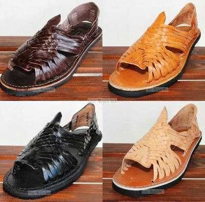 NEW MEN'S MEXICAN SANDALS AUTHENTIC HUARACHE SANDALS ALL COLORS HUARACHES  MEXICO | eBay