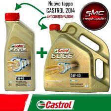 OLIO MOTORE CASTROL EDGE TURBO DIESEL FST 5W40 LT.5 (5 LITRi)