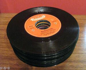 30 Deko Singles Vinyl Schallplatten Party Keller Tisch Dekoration