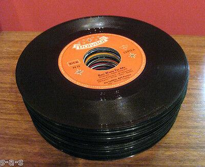 30 Deko Singles Vinyl Schallplatten Party Keller Tisch