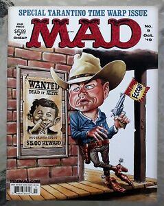 Mad Magazine; October, 2019; Tarantino Time Warp Issue; Last Newsstand Issue