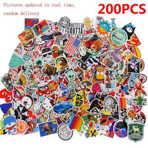 200Stk-Aufkleber-im-Set-Stickerbomb-Tuning-Aufkleber-Autoaufkleber-Style-decals