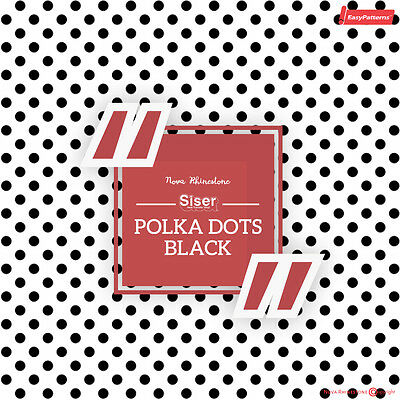 "SISER EasyPattern /""CHEVRON BLACK/"" Heat Transfer Vinyl 18/""x12/"" to 10yards"