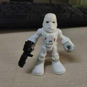 Playskool Star Wars Galactic Heroes Jedi Force SNOWTROOPER Hoth Snow Trooper