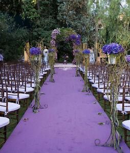 Image Is Loading 150 Ft Bridal Satin Aisle Runner 22 Colors