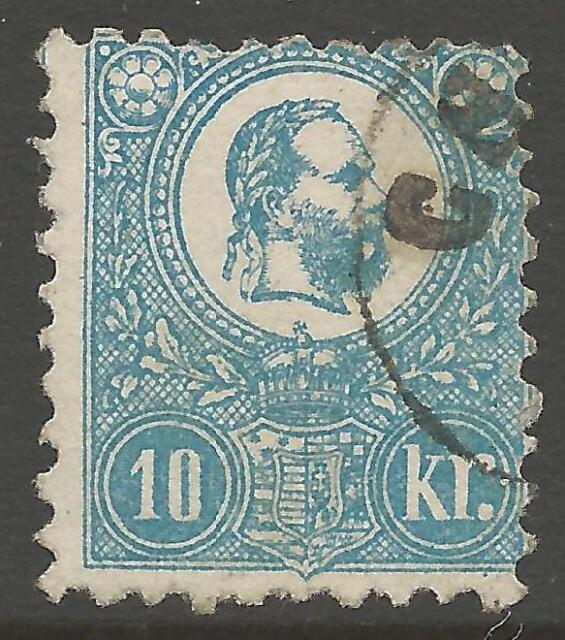 HUNGARY SG5 1871 10k BLUE USED