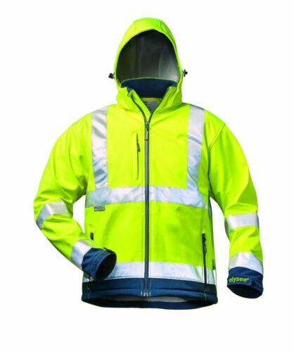 ELYSEE Warnschutz Softshelljacke Baujacke Arbeitsjacke Warnjacke Berufsjacke