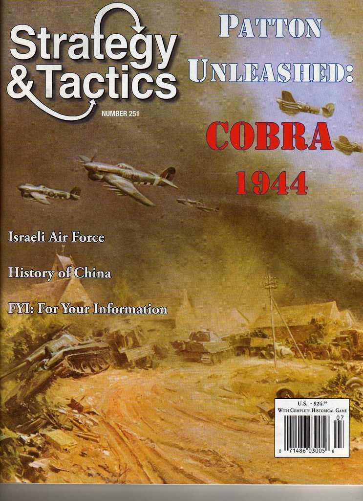 Strategie & Taktik 251 - Patton Entfesselt: Cobra 1944 - MINT und ungelocht