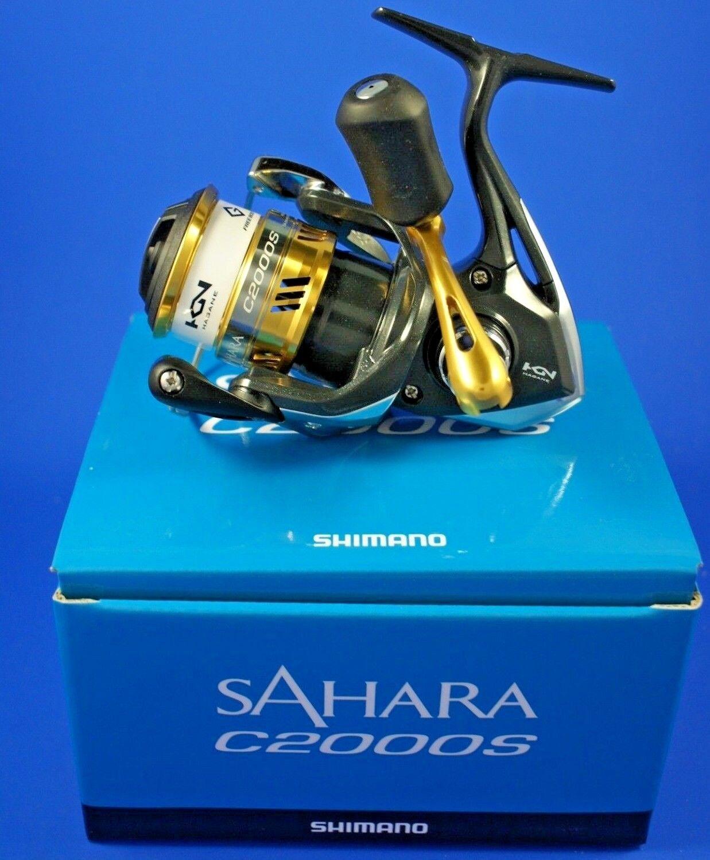 Shimano Sahara C2000S FI // SHC2000SFI // Front Drag Reel Fishing Reel Drag 364efe