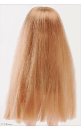 """/"""" Long Straight wig DOLLMORE 12/"""" Fashion doll wig Size Red Brown 3-4"""