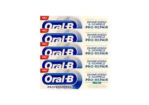 5x-Oral-B-Professional-Zahnfleisch-und-Zahnschmelz-Pro-Repair-extra-frisch-75-ml