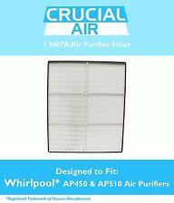 1 Whirlpool HEPA Air Purifier Filter Whispure AP450 AP510 1183054 1183054K