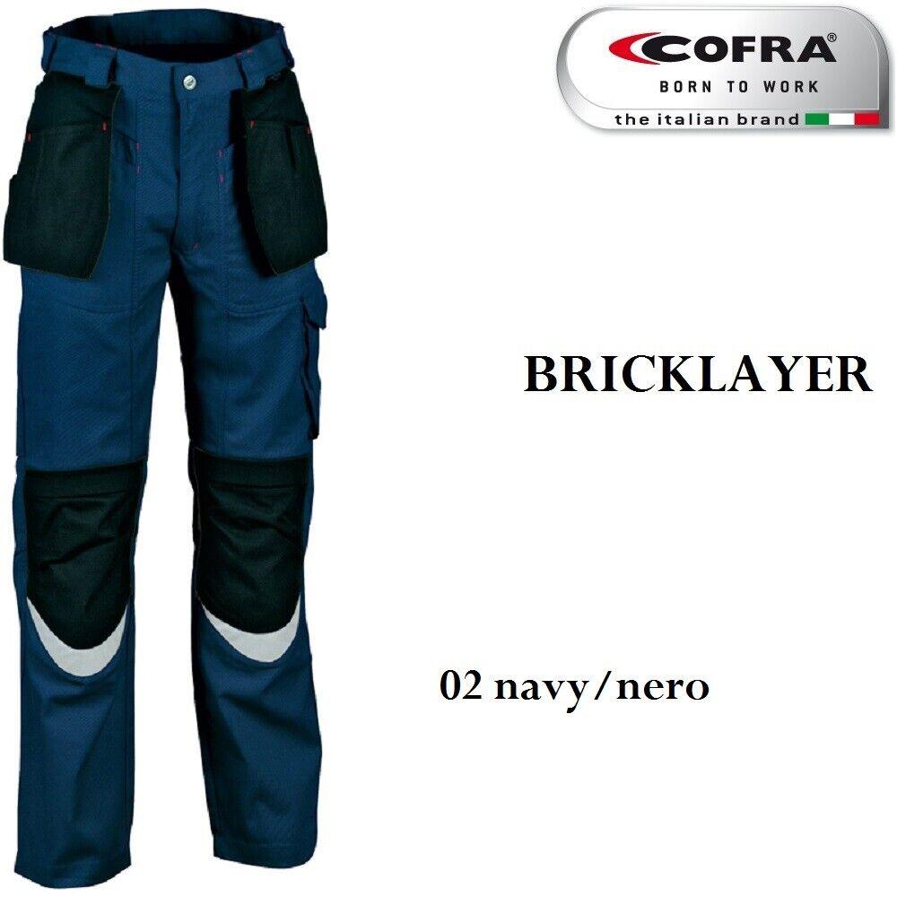 Pantalon de travail Cofra Bricklayer multitasche invernali Extra resistenti
