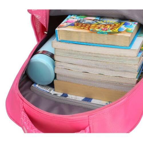 Kids Boys Girls Cartoon Character Backpack Children Rucksack Shoulder School Bag