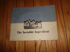 Vintage Booklet on Celotex Rock Wool Insulation