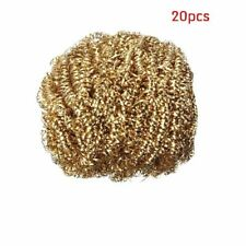 20pcs Clean Ball Soldering Iron Head Copper Wire Tip Cleaner Equipment Bga Tools