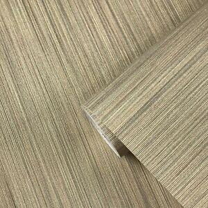 Vinyl-Wallpaper-gold-Textured-Plain-faux-grasscloth-pattern-wallcoverings-rolls