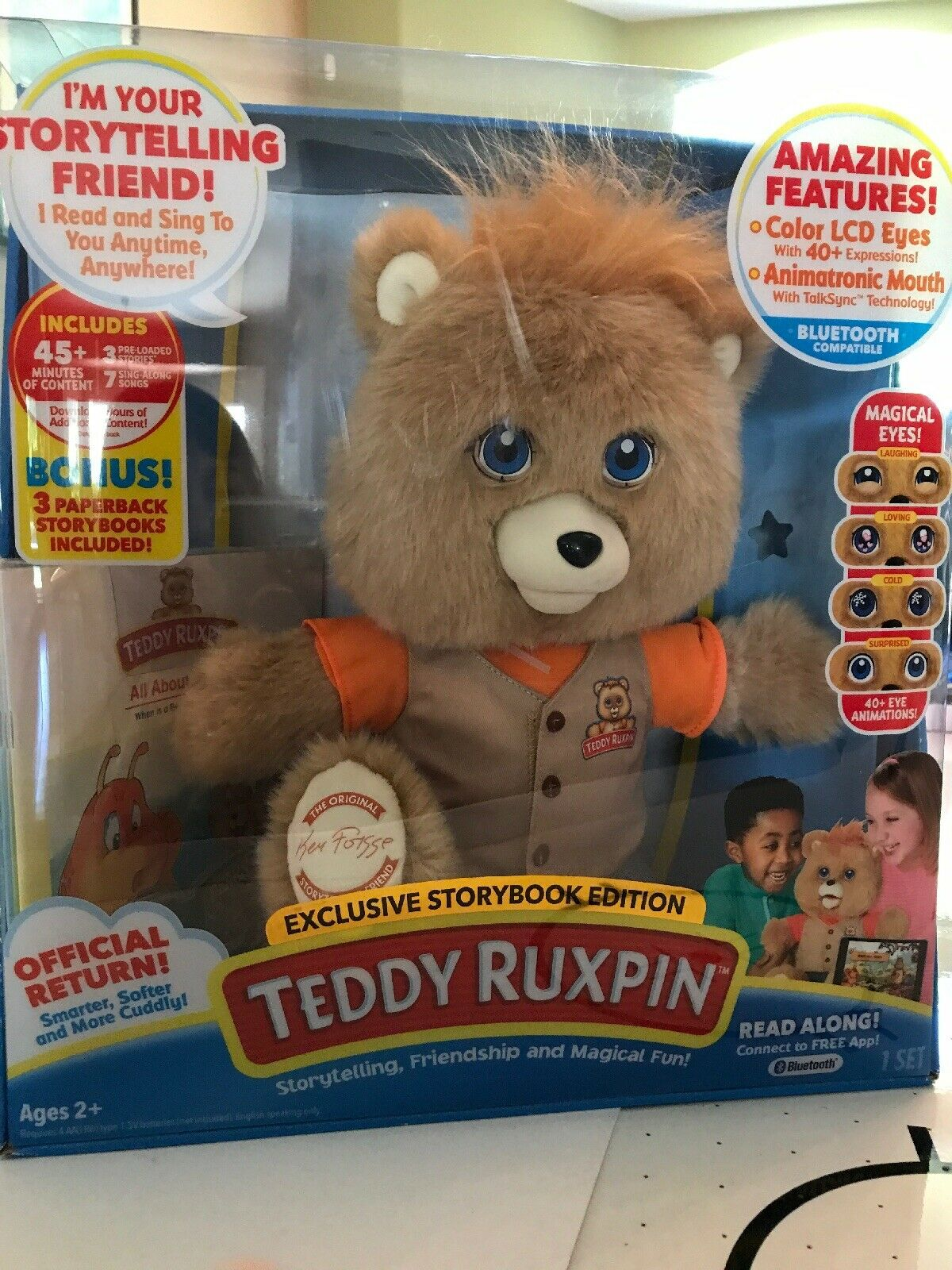 Teddy Ruxpin exclusive storybook edition NEW IN BOX