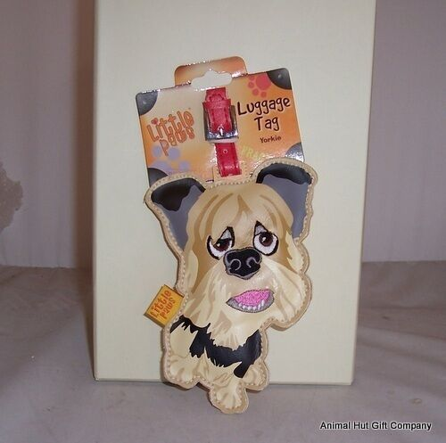 LITTLE PAWS Luggage Tag Yorkshire Terrier
