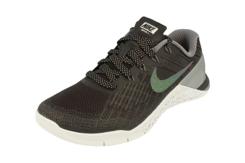 Nike Donna Metcon 3 Metallizzato Scarpe Scarpe da Corsa 922880 Scarpe Metallizzato da Tennis 001 b67a9c
