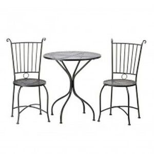 Garden Patio Bistro Table Chairs Set Outdoor Patio Pool Dining Deck Furniture