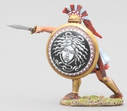 Thomas Gunn Antik Greeks & Persians SPA023C Spartan Thrusting Medusa MIB