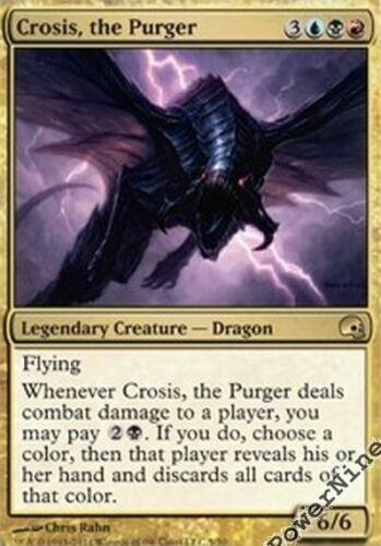 the Purger 1 PreCon FOIL Crosis Gold PDS Graveborn Mtg Magic Rare 1x x1