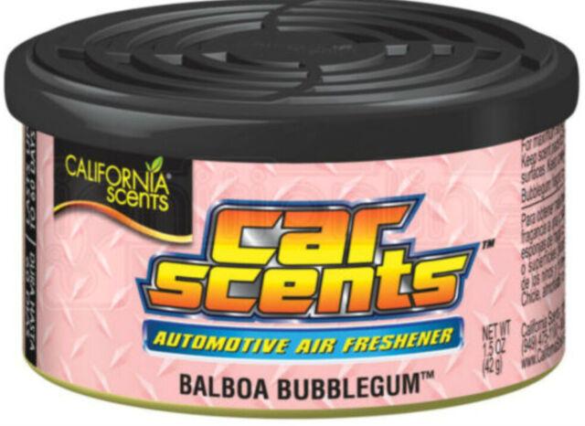 California Scents Balboa Bubblegum Voiture Désodorisant Maison Taxi Organique