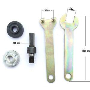 M10-16mm-Drill-Angle-Grinder-Mandrel-Adapter-Disc-Holder-Kit-Spanner-Set-LA2