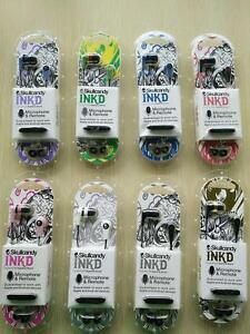 NEW Skullcandy Supreme Sound Headphones ink'd 2.0 IN-Ear Earphone Headset w MIC