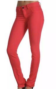 e3bf3aa8 Diesel Livier Super Slim Jegging Low Waist Red Jeans Sz 27 L31 $198 ...