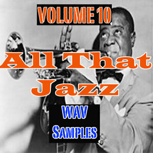 Details about ALL THAT JAZZ! Wav Samples & Loops Universal Ableton Logic FL  Studio / FAST DL